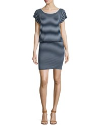 Soft Joie Kyler Striped Jersey Blouson Dress Women's