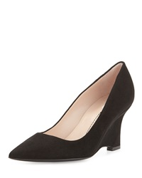 Musa Curved Wedge Pump Onyx Furla