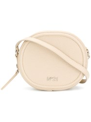 N 21 No21 Circle Cross Body Bag Nude And Neutrals