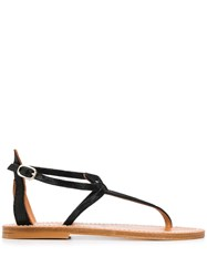 K. Jacques Embossed Thong Sandals 60