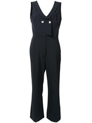 Vivetta Double Breasted Jumpsuit Black