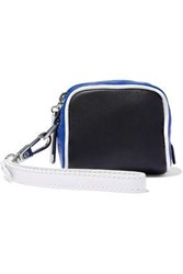 3.1 Phillip Lim Ryder Two Tone Leather Clutch Black