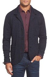 Men's Apolis Knit Cardigan Blazer Navy