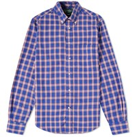 Gitman Brothers Vintage Japanese Blues Madras Shirt