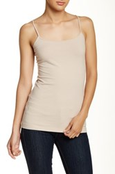 14Th And Union Solid Staple Cami Petite Beige