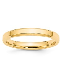 Bloomingdale's 3Mm Bevel Edge Comfort Fit Band In 14K Yellow Gold 100 Exclusive