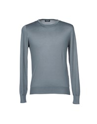 Zanieri Knitwear Jumpers Grey
