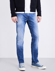 Replay Grover Hyperflex Slim Fit Tapered Jeans Light Blue