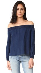 Rag And Bone Drew Top Indigo