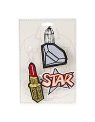 Page D Three Piece Lipstick Pin Pack Multi