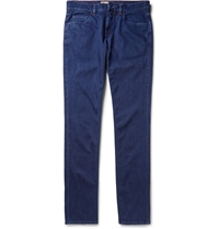 Loro Piana Regular Fit Straight Leg Jeans Blue