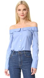 Club Monaco Jearim Top French Blue