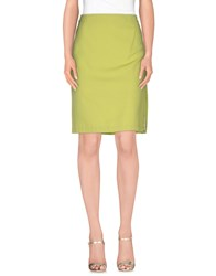 Versace Jeans Couture Skirts Knee Length Skirts Women Acid Green