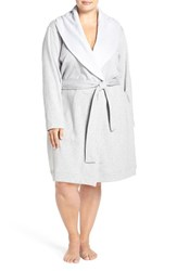 Uggr Plus Size Women's Ugg 'Blanche' Plush Shawl Collar Robe