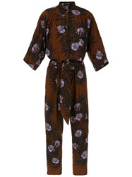 Andrea Marques Printed Jumpsuit Multicolour