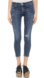 Gold Sign Glam Skinny Jeans Liberty