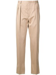 Gabriele Pasini Straight Leg Tailored Trousers Neutrals