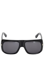 Tom Ford Rectangular Injected Sunglasses Black