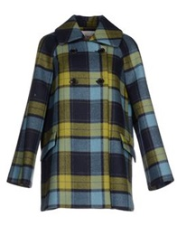 Jucca Coats Dark Blue