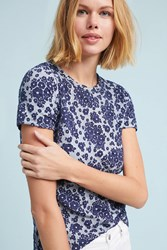 Anthropologie Forget Me Navy