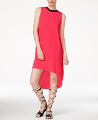 Rachel Rachel Roy Petra High Low Dress Bright Coral