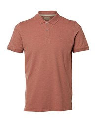 Selected Point Collar Polo Ash Rose