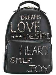 Red Valentino Small Studded Backpack Black