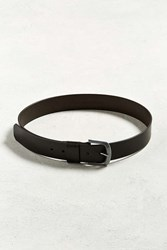 Urban Outfitters Uo Leather Belt Brown