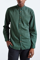 Cpo Stevens Overdyed Shirt Dark Green