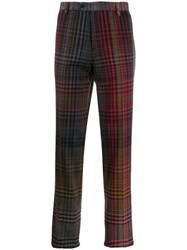 Missoni Checked Tailored Trousers Black