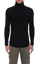 Nsf Men's Klim Wool Cashmere Turtleneck Sweater Black