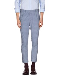 Paolo Pecora Trousers Casual Trousers Men Sky Blue