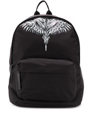 Marcelo Burlon County Of Milan Feather Print Backpack 60