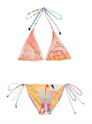 We Are Handsome The Bahamas Flamingo Print Bikini