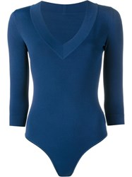 Alaia Long Sleeved Body Blue
