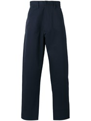 E. Tautz Chore Trousers Blue