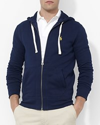 Polo Ralph Lauren Classic Full Zip Fleece Hoodie Cruise Navy