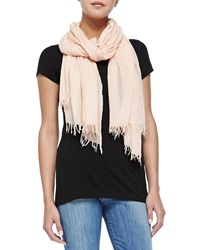 Vince Fringed Scarf New Buff