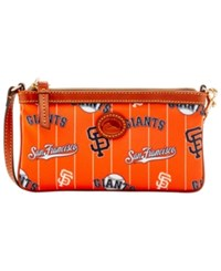 Dooney And Bourke San Francisco Giants Nylon Wristlet Orange