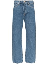 Gold Sign Goldsign The Relaxed Straight Leg Jeans Blue