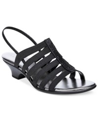 Karen Scott Estevee Sandals Only At Macy's Women's Shoes Black