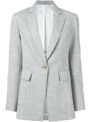 3.1 Phillip Lim Single Button Blazer Grey
