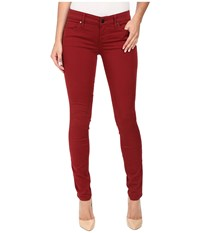 Level 99 Liza Skinny Five Pocket In Roselle Roselle Women's Jeans Red