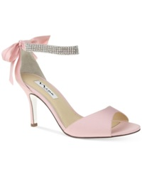 Nina Vinnie Two Piece Evening Sandals Women's Shoes Ballet Pink