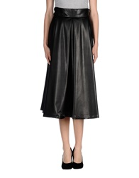 Noshua 3 4 Length Skirts Black