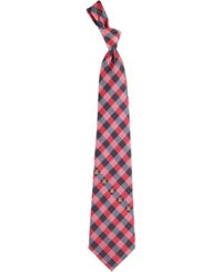 Eagles Wings Maryland Terrapins Checked Tie