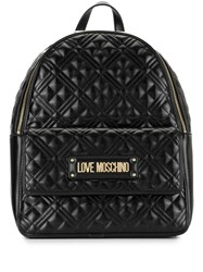 Love Moschino Quilted Logo Backpack 60