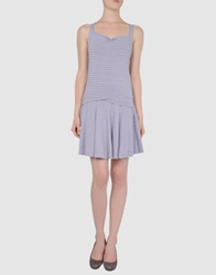Killah Short Dresses Lilac