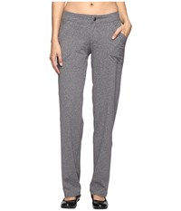 Exofficio Aysha Pants Charcoal Heather Women's Casual Pants Gray