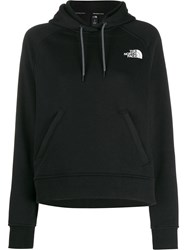 The North Face Contrast Logo Hoodie Black